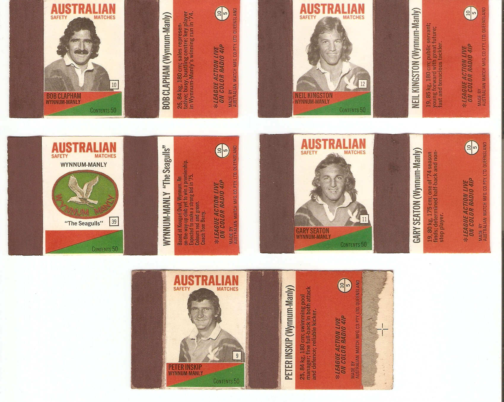 1975 Match Box Covers – Throwback Thursday History Article