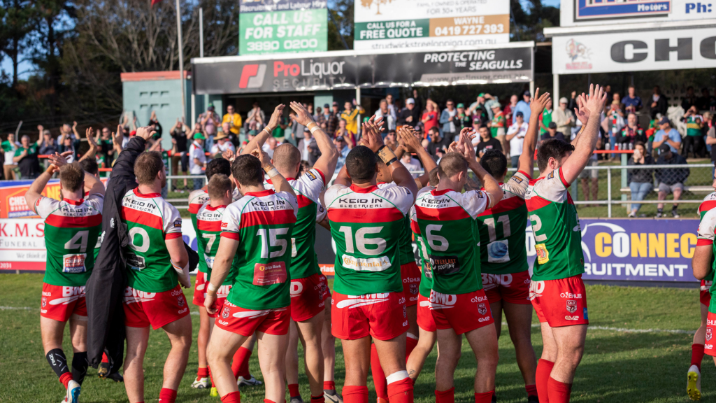 Seagulls lock in home finals matches – Wynnum Manly Seagulls