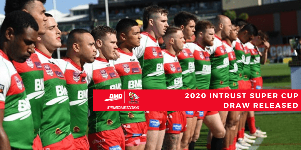 Seagulls 2020 Intrust Super Cup Draw
