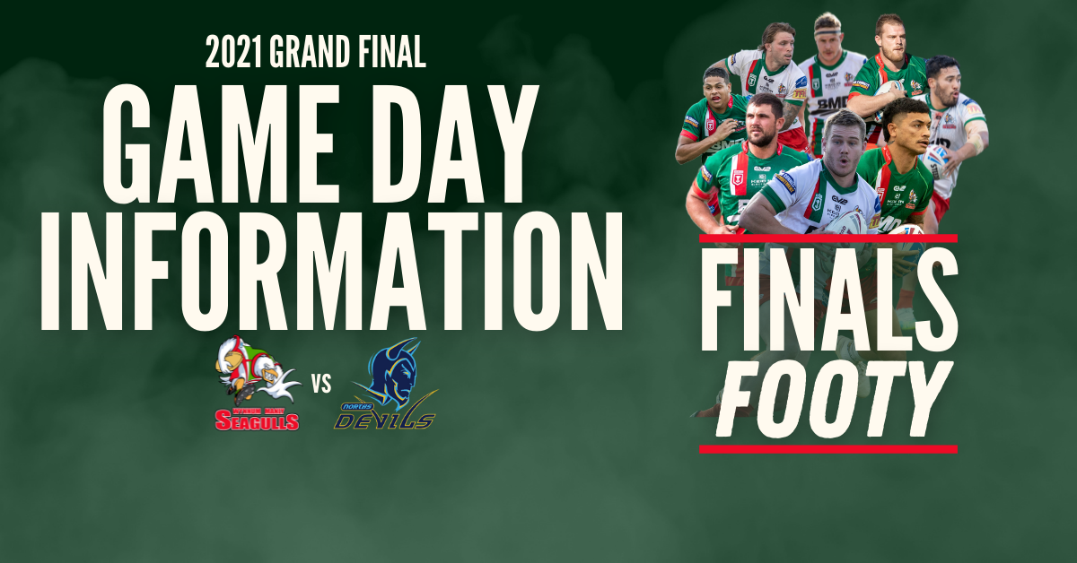 2021 Grand Final Game Day Information