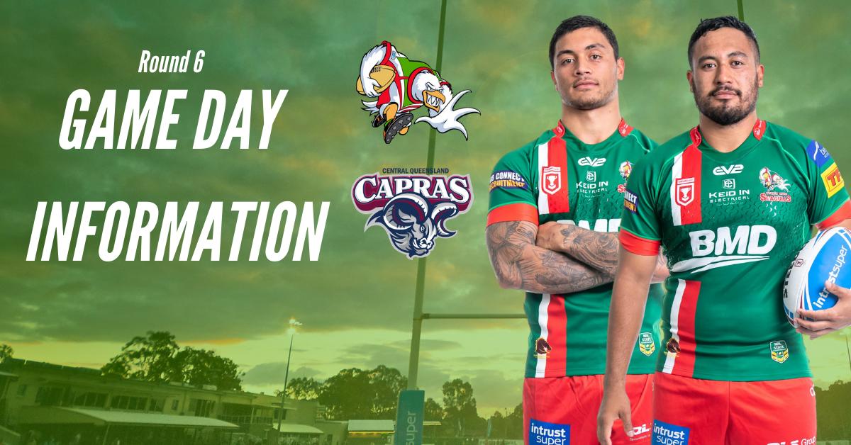 Round 6: Game Day Information