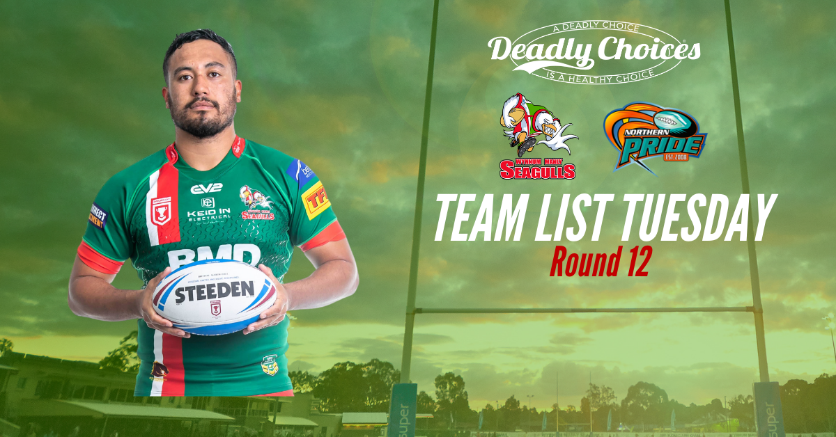 Team List Tuesday: Deadly Choices Match vs Northern Pride