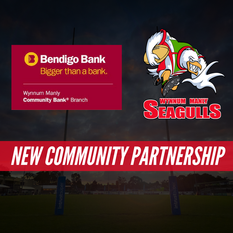 Seagulls Form Historic Partnership With Bendigo Bank