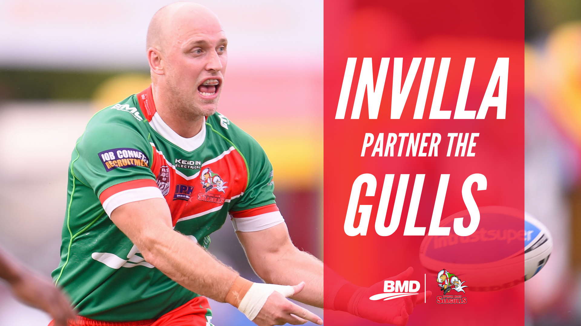 Invilla Partner with Wynnum Manly