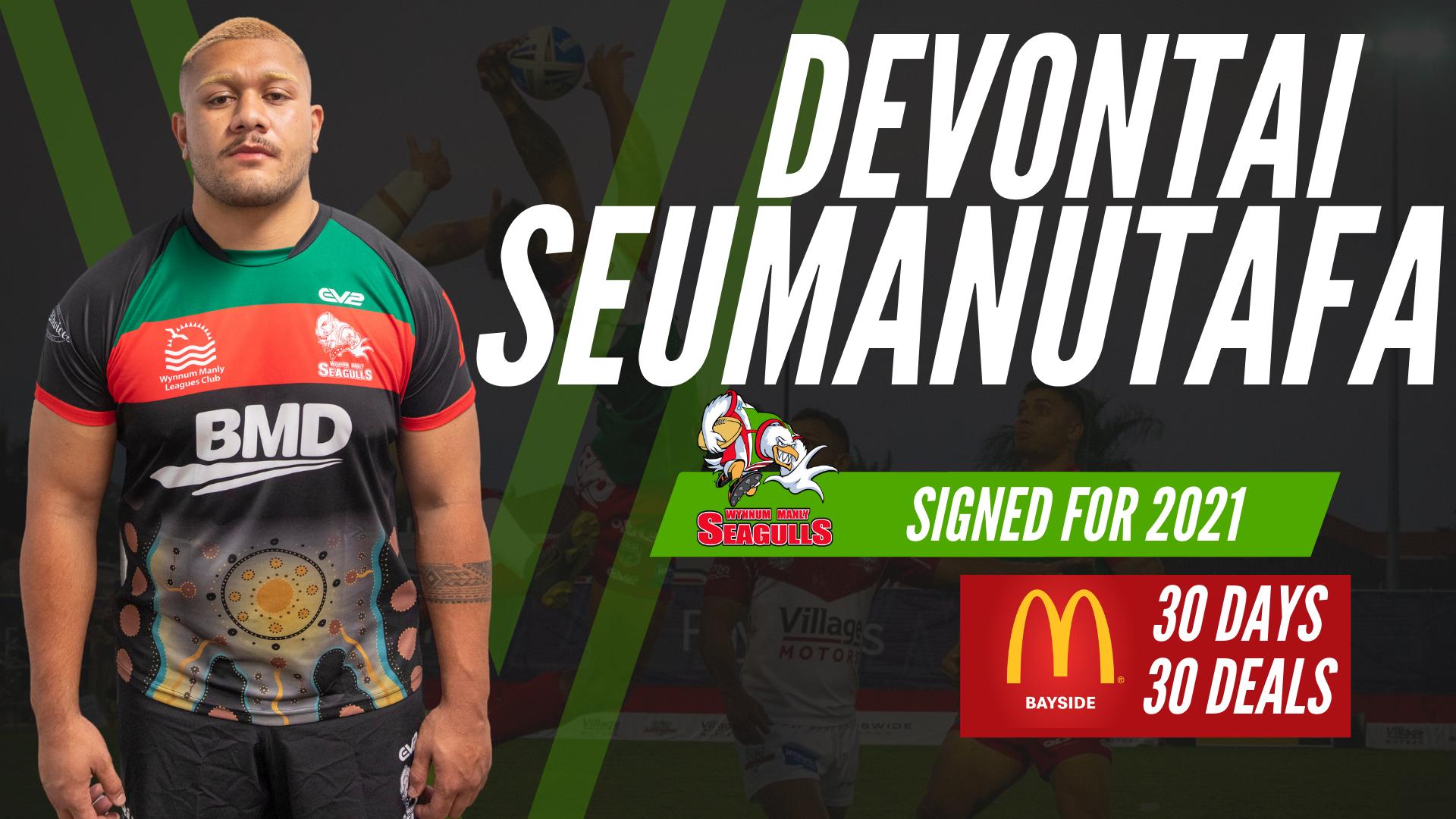Devontai Seumanutafa signed for 2021