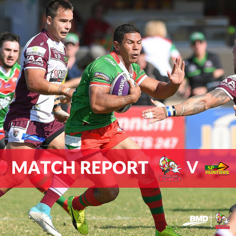 MATCH REPORT | Win v Gulls secures PNG silverware