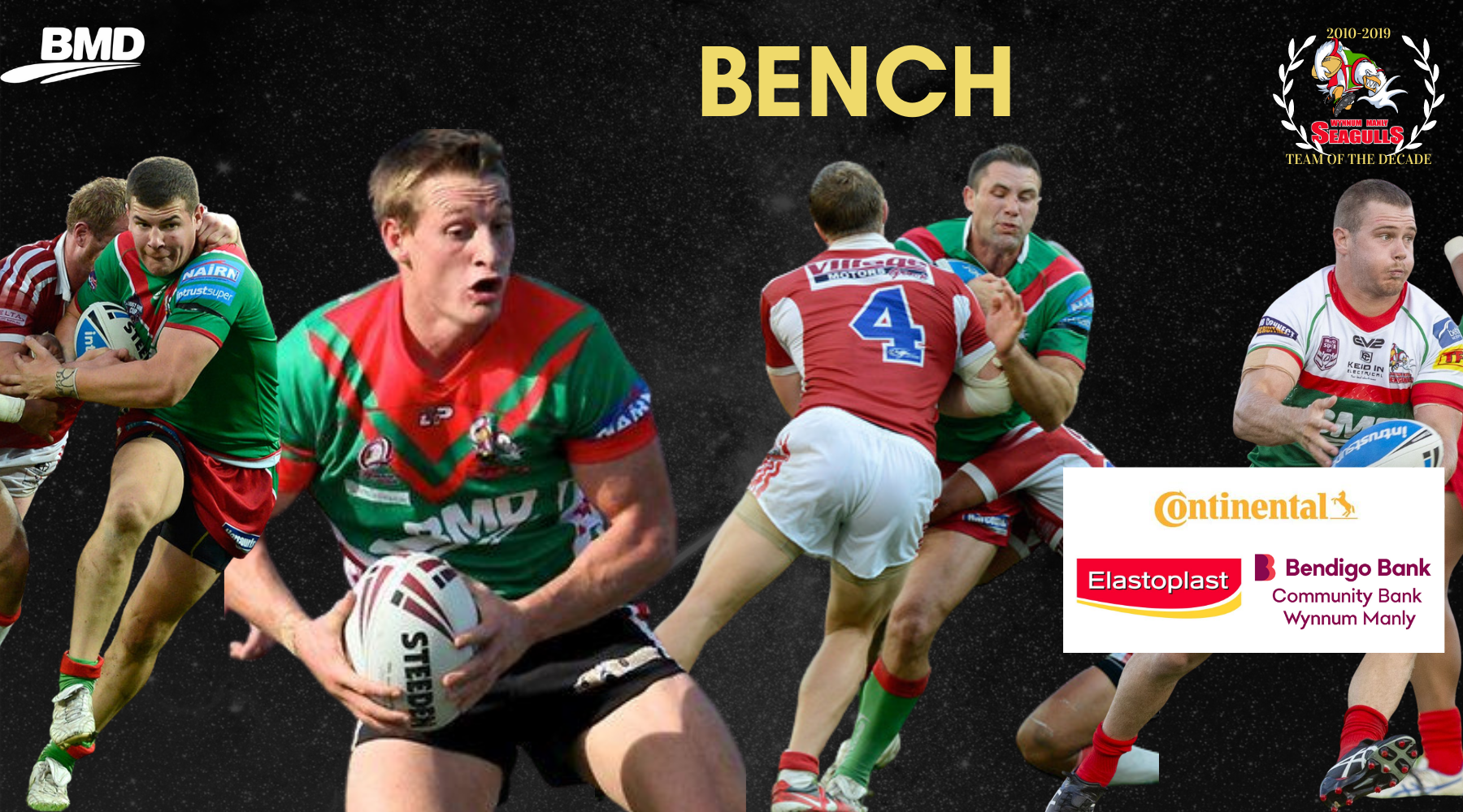 Vote- Team of the Decade: Bench Positions