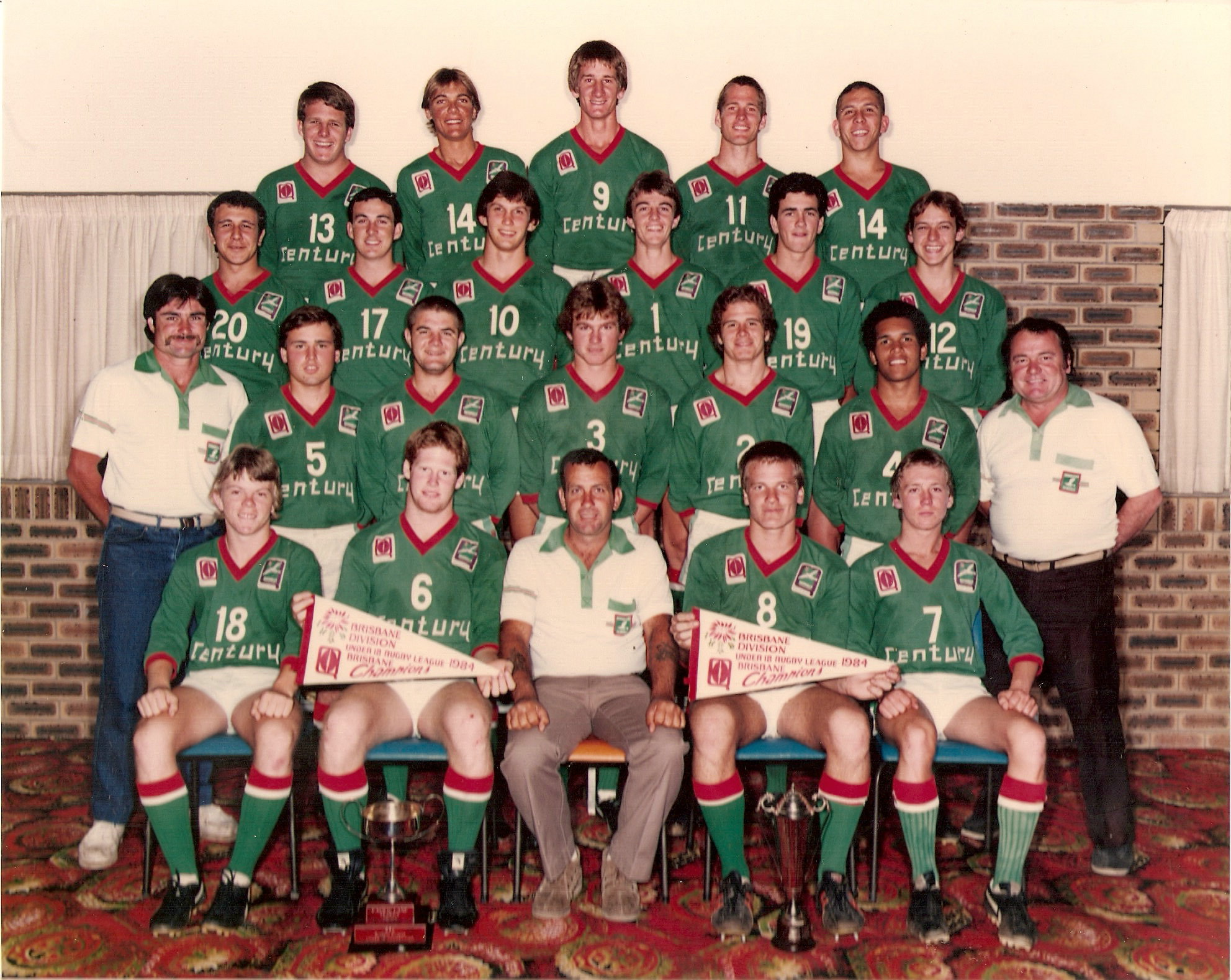 1984 U18's Premiership Winners – Throwback Thursday History Article