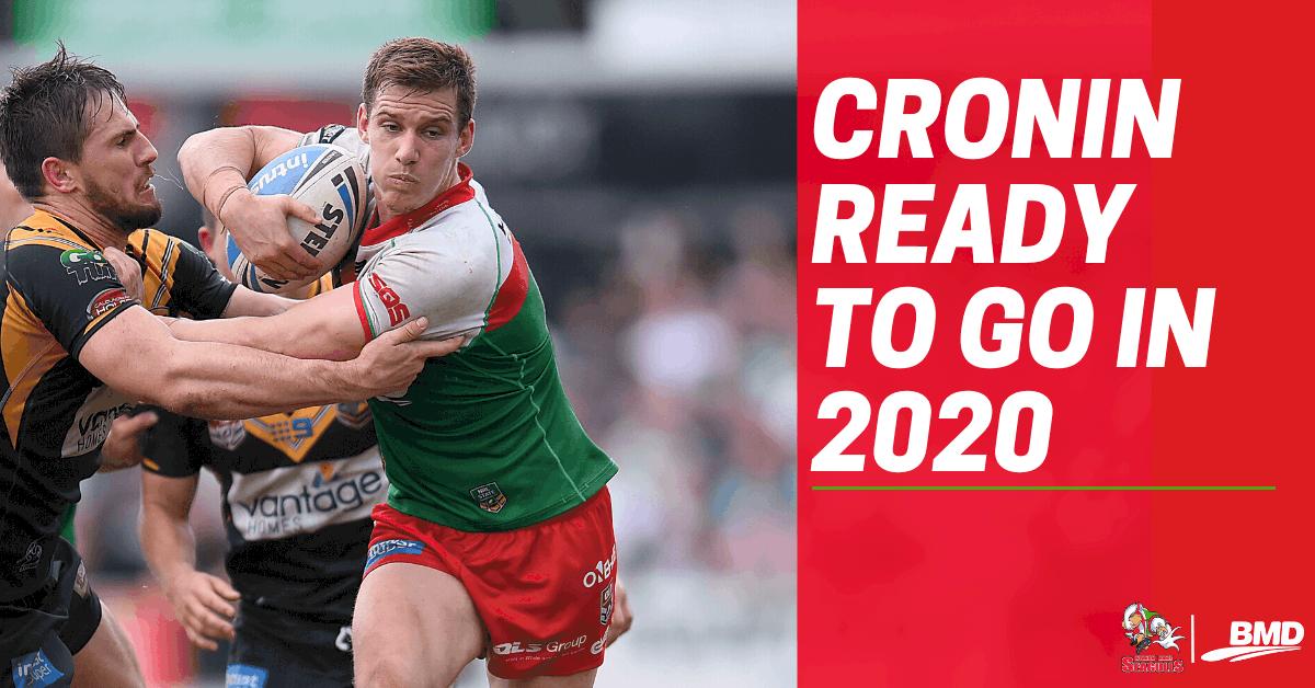 Cronin ready to go in 2020