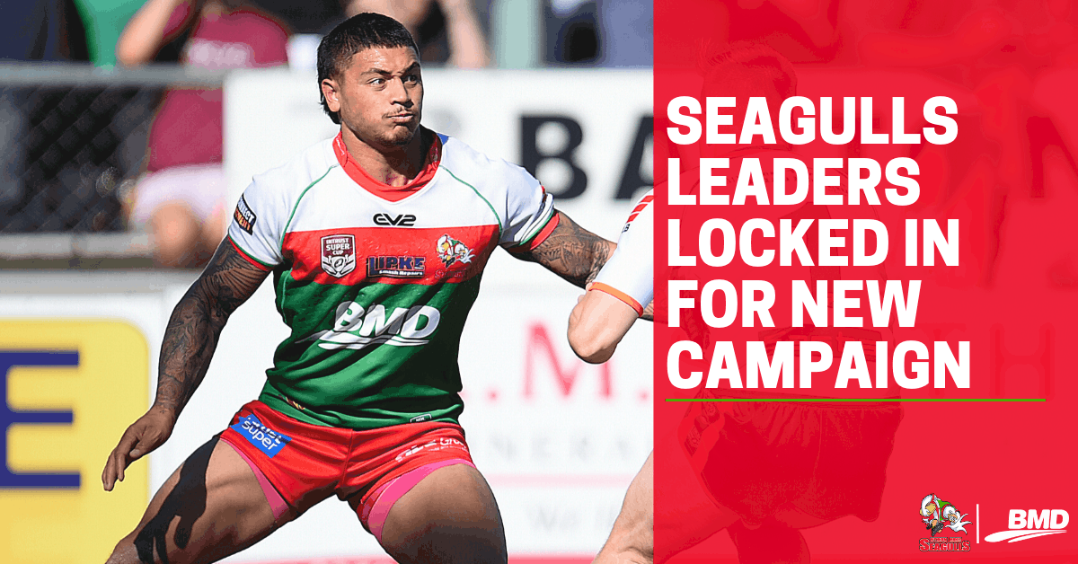 Seagulls leaders locked in for new campaign