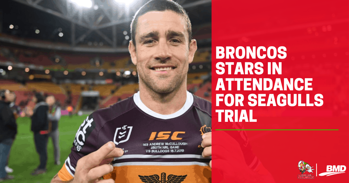 Broncos stars in attendance for Seagulls trial